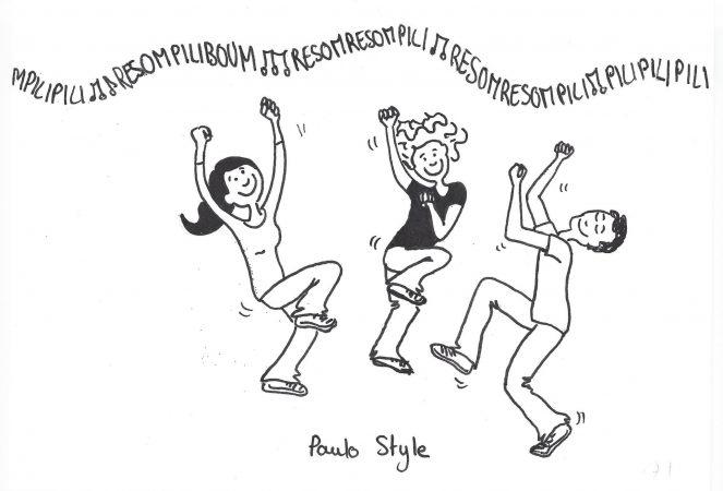 Comic Sherpawomen  (gezeichnet von Julia Bertret)